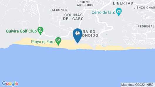 Pueblo Bonito Pacifica Golf & Spa Resort -All Inclusive-Adult Only Map
