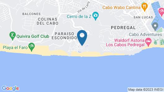 Pueblo Bonito Sunset Beach Golf & Spa Resort - All Inclusive Map