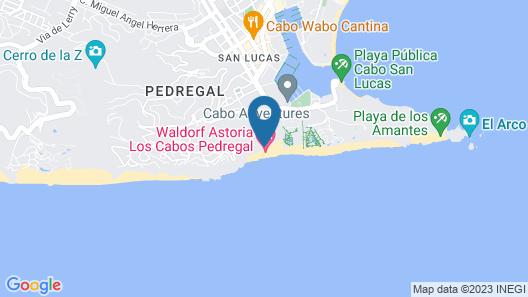 Waldorf Astoria Los Cabos Pedregal Map