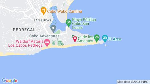 Solmar Resort Map