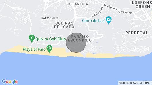 Cabo Condo w/ Sunset Beach Views - Downtown 4 Mi! Map