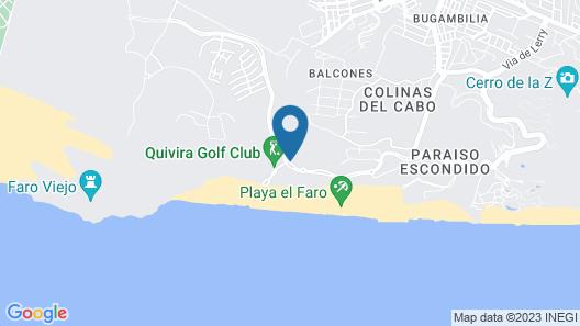 Montecristo Villas at Quivira Los Cabos - Vacation Rentals Map
