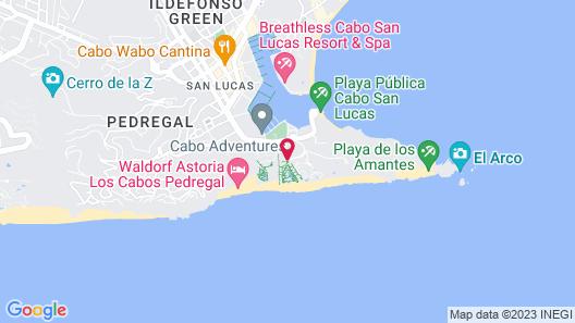 Playa Grande Resort & Grand Spa  Map