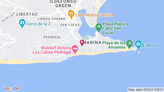 Sandos Finisterra All Inclusive Map