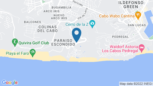 Quivira Los Cabos Condos & Homes - Vacation Rentals Map