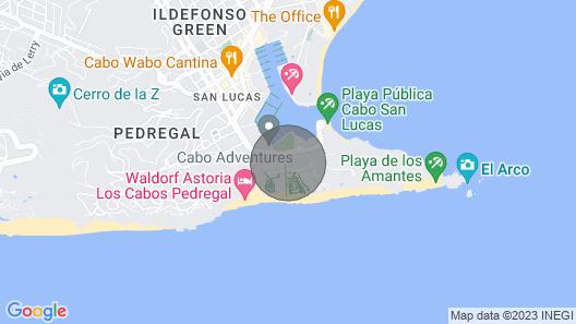 2 Bedroom Penthouse Playa Grande Map