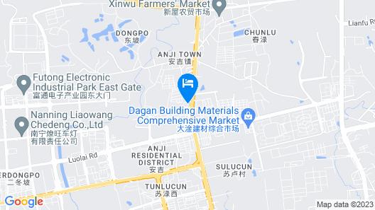 GreenTree Alliance Nanning Anji Bus Station Hotel Map