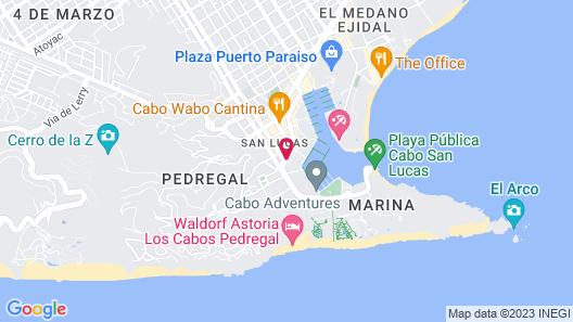 Tesoro Los Cabos Map