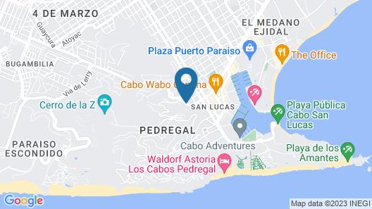 La Vista Luxury Villas Map