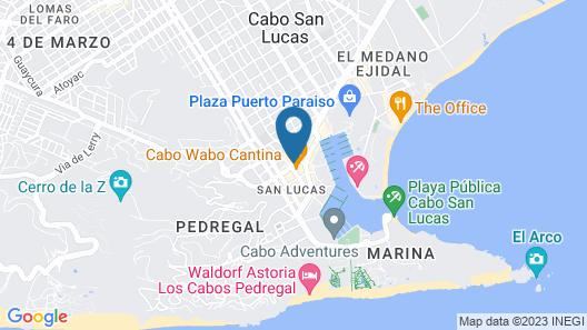 Hotel Mar de Cortez Map