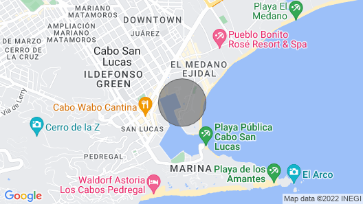 Best 2-br Nautical Family Suite IN Cabo SAN Lucas Map