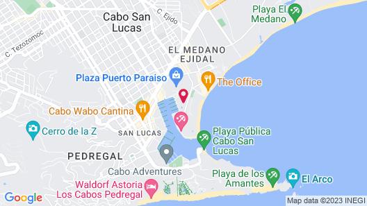 Marina Fiesta Resort & Spa Map