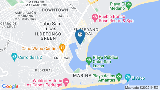 Marina Fiesta Resort & Spa Map