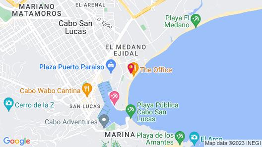 Cabo Villas Beach Resort & Spa Map