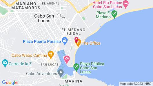Bahia Hotel & Beach House Map