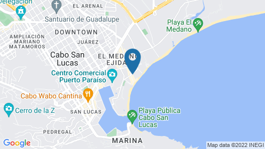 Bahia Hotel & Beach House Map