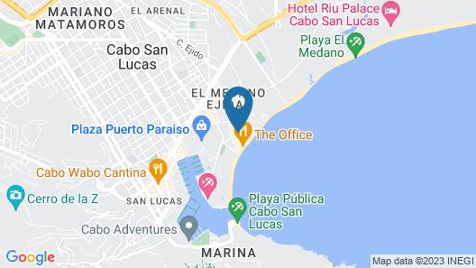 Casa Dorada Los Cabos Resort & Spa Map