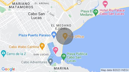 Ocean View Casa Dorado at Private Beach Medano Resort & Spa Map