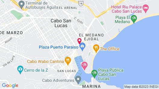 Fairfield Inn by Marriott Los Cabos Map