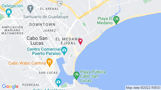 Me Cabo Map