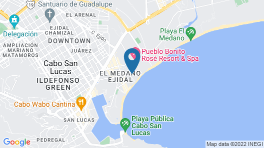 ME Cabo by Melia Map