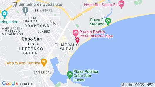 Pueblo Bonito Rose Resort and Spa - All Inclusive Map
