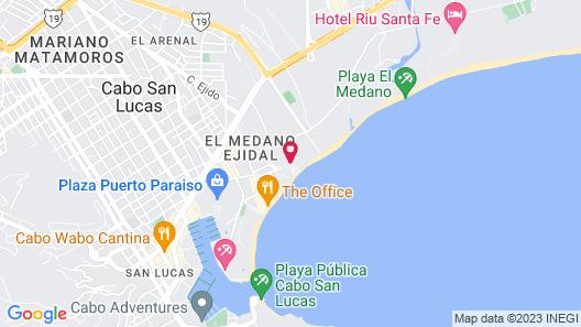 Pueblo Bonito Los Cabos Blanco - All Inclusive Map