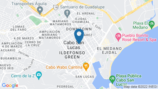 Hotel Santa Fe by Villa Group Map