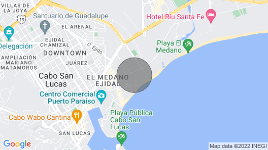 Pueblo Bonito Rose:  Magnificent 3 Bedroom Penthouse Map