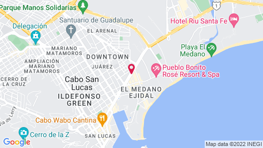 Medano Hotel and Suites Map