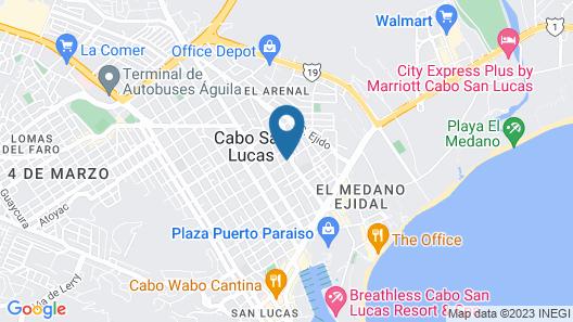 Hotel Plaza Los Dorados Map