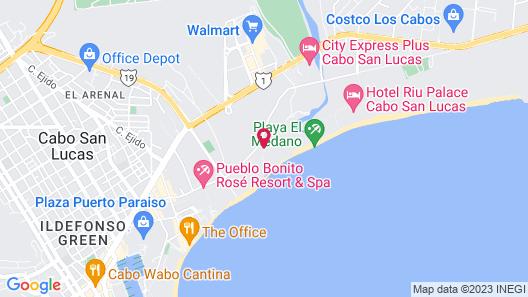 Villa del Palmar Beach Resort Cabo San Lucas Map