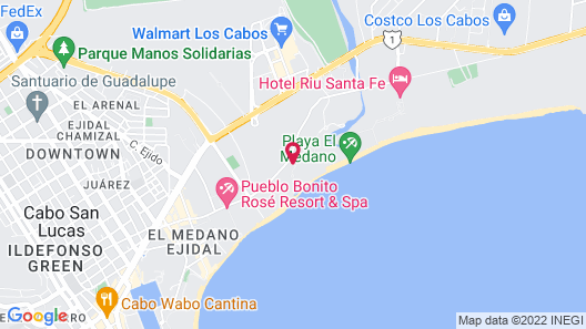 Villa La Estancia Beach Resort & Spa Map