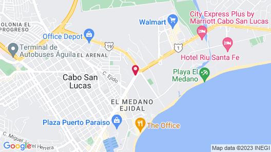 Quinta del Sol by Solmar Map