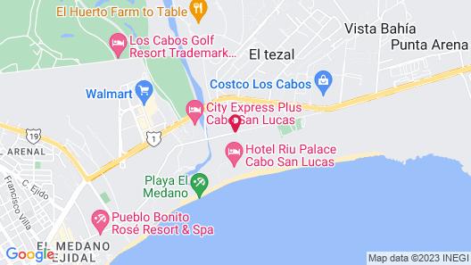 Riu Palace Cabo San Lucas All Inclusive Map