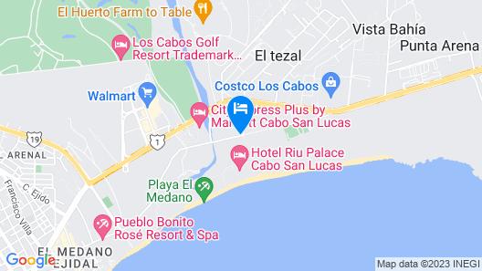 Riu Santa Fe All Inclusive Map