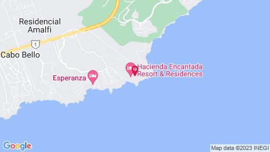 El Encanto All Inclusive Resort at Hacienda Encantada Map