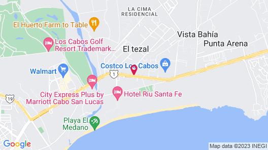 Los Patios Hotel Map