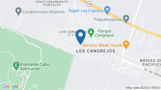Casa Rancho Map