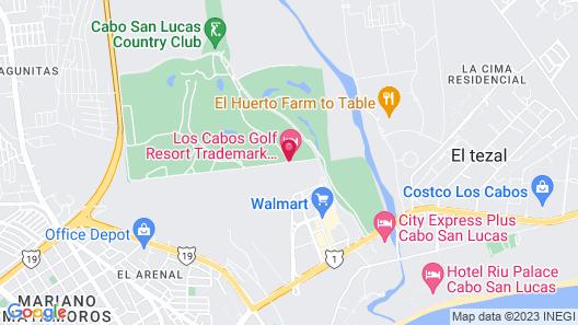 Los Cabos Golf Resort Map