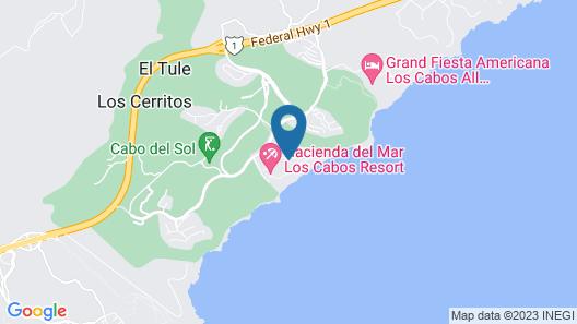 Hacienda del Mar Los Cabos Resort, Villas & Golf Map