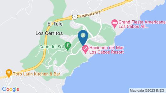 Sheraton Grand Los Cabos Hacienda Del Mar Map