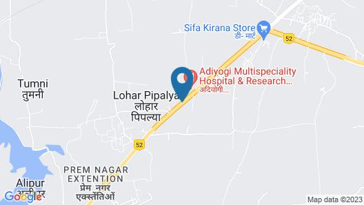 Vista Rooms at Nandan Kanan (Indore) Map
