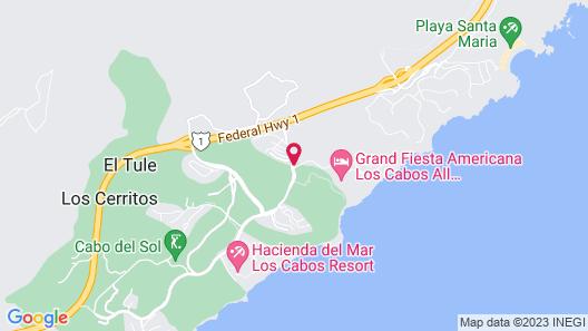 Grand Fiesta Americana Los Cabos All Inclusive Golf & Spa  Map