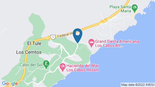 Grand Fiesta Americana Los Cabos All Inclusive Golf & Spa  Map