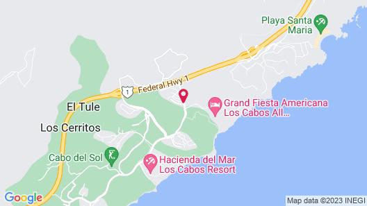 Live Aqua Private Residences Los Cabos Map