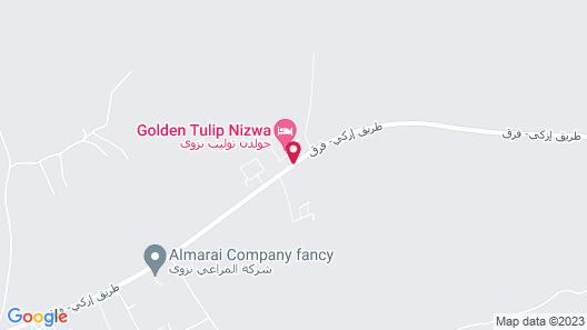 Golden Tulip Nizwa Hotel Map