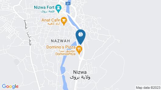 Nizwa Residence Hotel Apartment Map