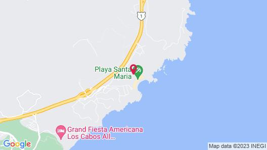 Montage Los Cabos Map