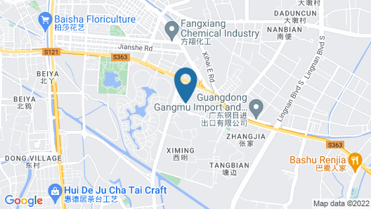 YUMI Apartment-Lecong Tianyou Branch Map